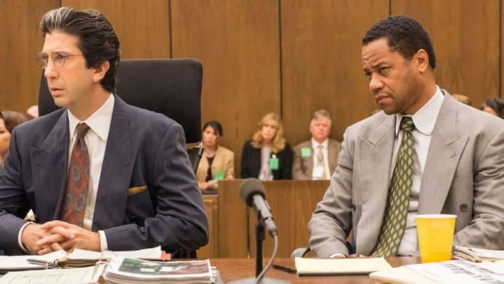 The People vs OJ SImpson trial movie