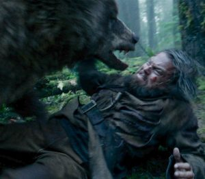 The Revenant Bear Attack scene