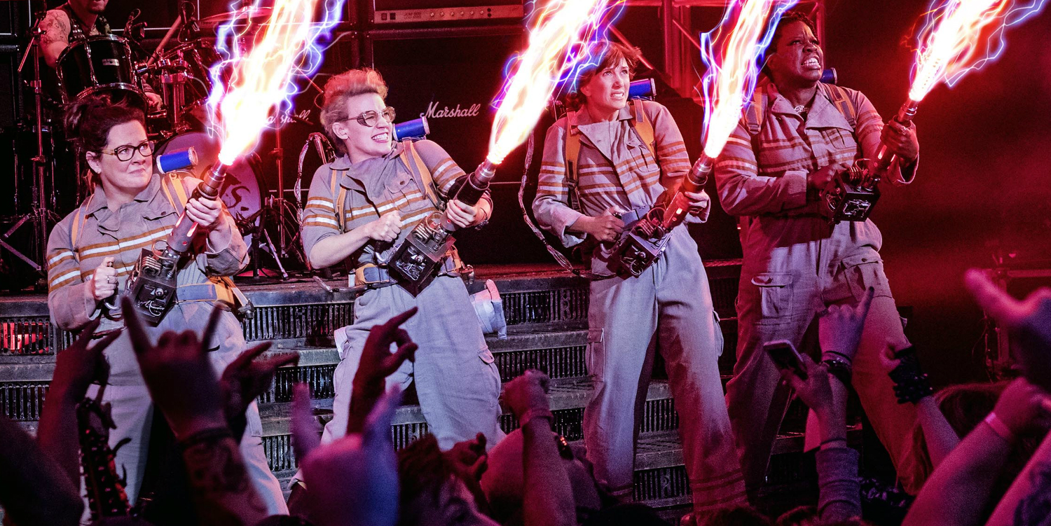 Ghostbusters 2016 remake