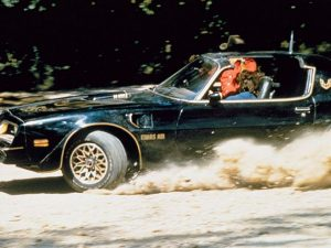 Smokey and the Bandit Trans Am car chase