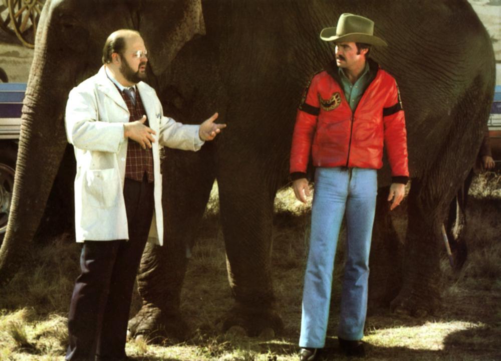 Smokey Bandit 2 1980 Dom DeLuise Burt Reynolds elephant