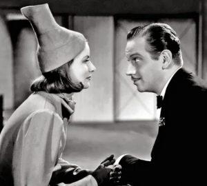 Greta Garbo Melvyn Douglas Ninotchka 1939 hat