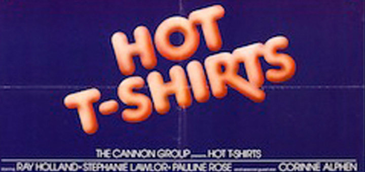Hot T-Shirts 1980 sex comedy