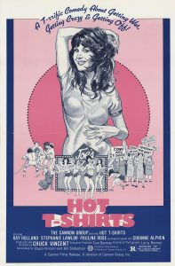 Hot T Shirts 1980 sex comedy poster Chuck Vincent