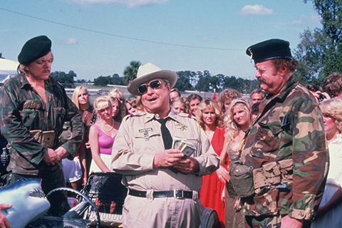 Jackie Gleason Smokey and the Bandit Part 3 1983 Sheriff Buford T Justice