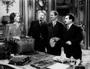 Ninotchka Ernst Lubitsch 1939 Greta Garbo romantic comedy