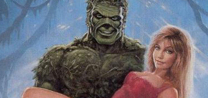 Return of Swamp Thing poster