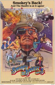 Smokey Bandit movie poster 1983
