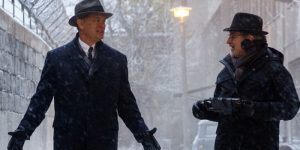 Tom Hanks Steven Spielberg Bridge of Spies 2015