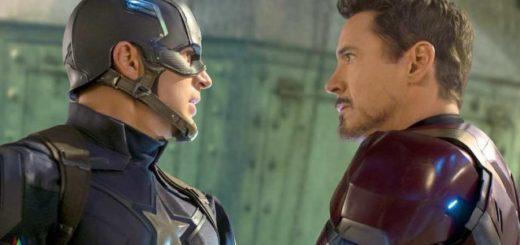 Captain America Civil War Chris Evans Robert Downey Jr.