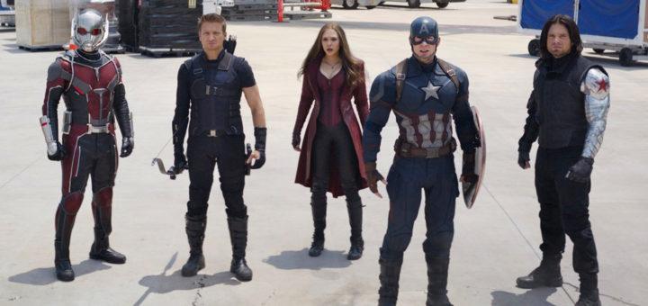 Captain America Civil War Marvel movie cast