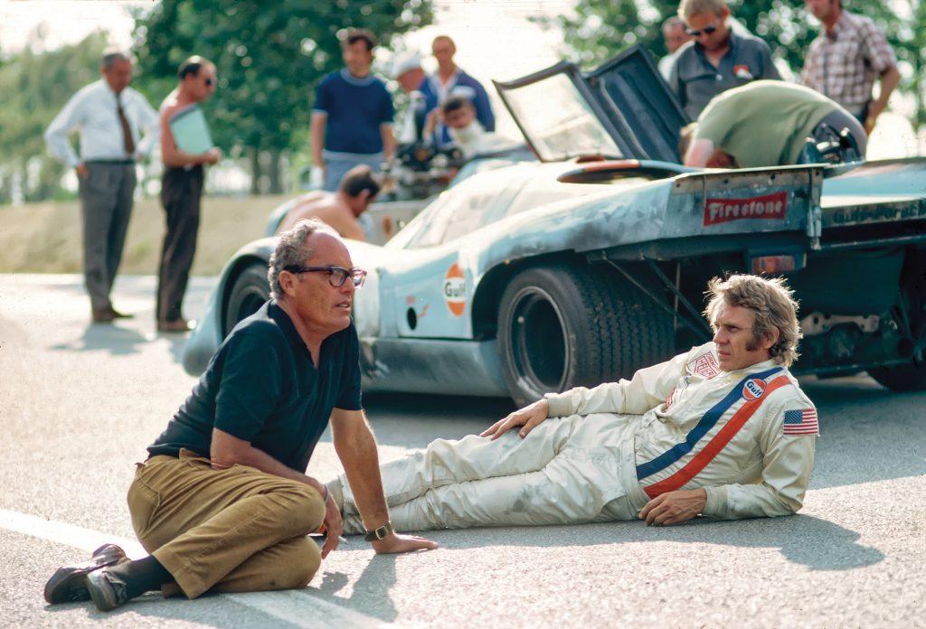 John Sturges Steve McQueen Le Mans 1971 filming production