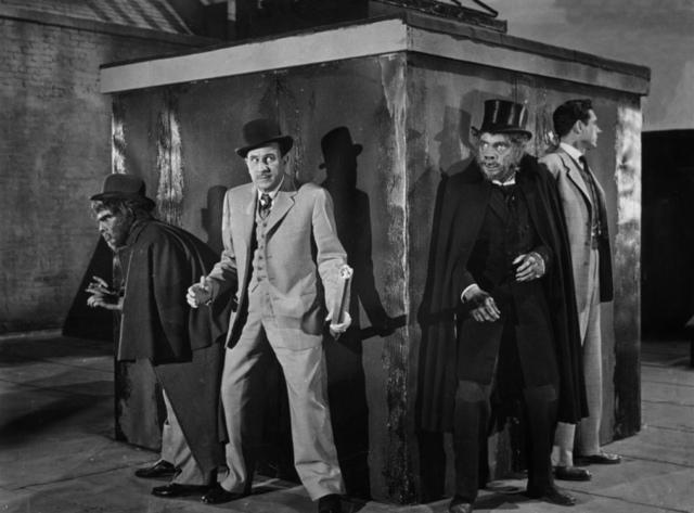 Bud Abbott Lou Costello Dr Jekyll Mr Hyde 1953 monster movie