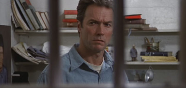 Clint Eastwood Escape From Alcatraz 1979 prison escape movie