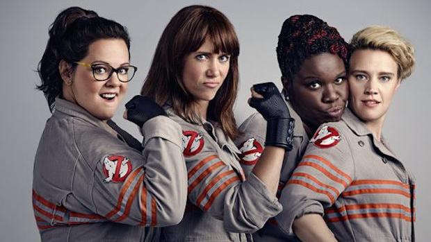Ghostbusters 2016 comedy remake