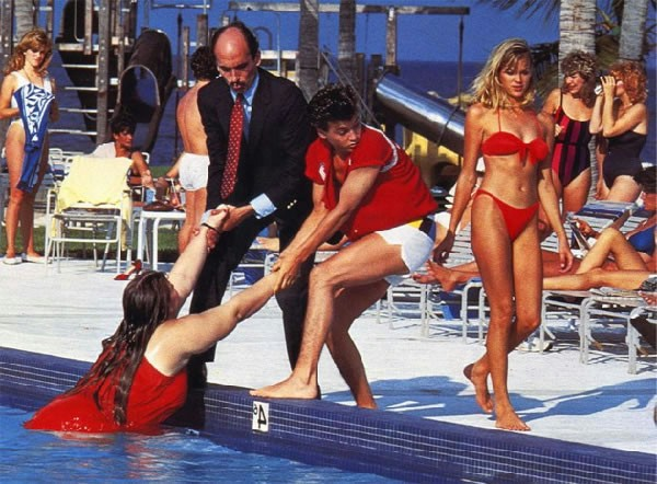 Johnny Depp Private Resort 1985 teen sex comedy
