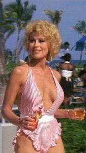 Leslie Easterbrook sexy big boobs milf Private Resort 1985