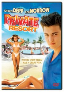 Private Resort 1985 Johnny Depp dvd
