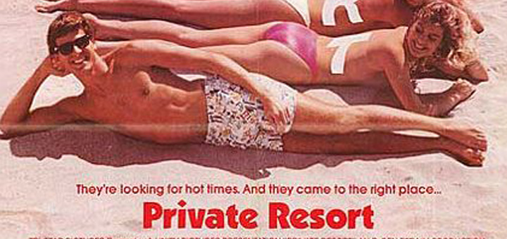 Private Resort 1985 movie review