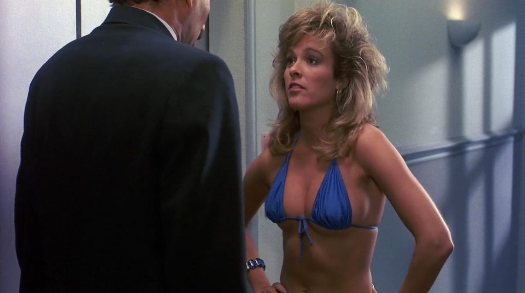 Vickie Benson hot chick Private Resort 1985