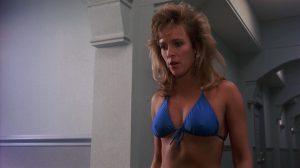 Vickie Benson sexy bikini girl Private Resort 1985 movie