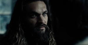 Jason Momoa as Aquaman in Justice League trailer