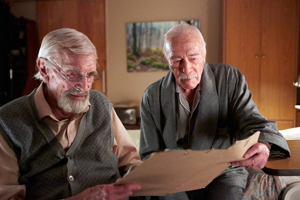 Remember 2015 Christopher Plummer Martin Landau