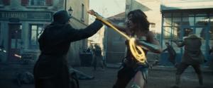 Wonder Woman movie Gal Gadot magic lasso action scene