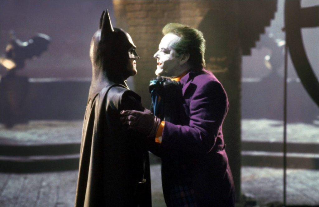 Batman 1989 Michael Keaton Jack Nicholson Joker