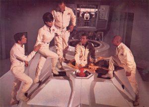 Fantastic Voyage 1966 cast boarding the ship Proteus