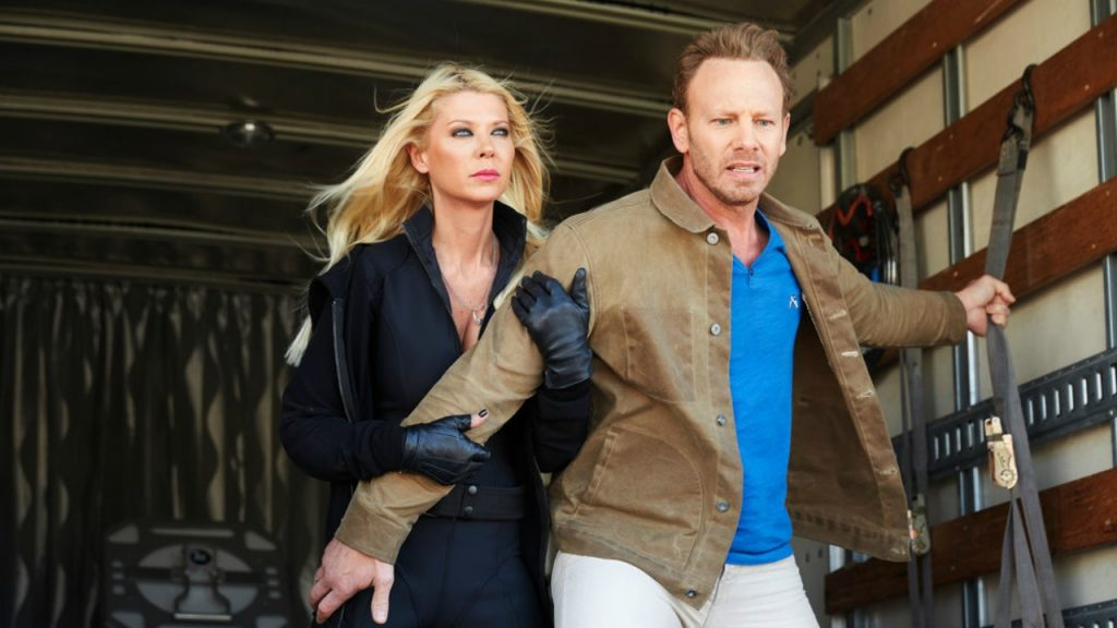 Sharknado 4 Ian Ziering Tara Reid 2016 SyFy bad movie