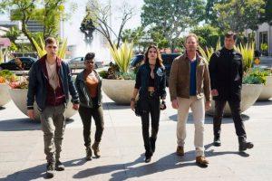 Sharknado 4 Ian Ziering cast