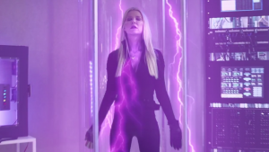 Tara Reid as April Shepard in Sharknado 4