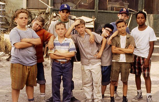 The Sandlot 1993 baseball comedy cast
