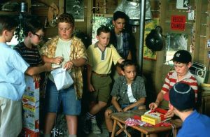 The Sandlot 1993 baseball family comedy movie