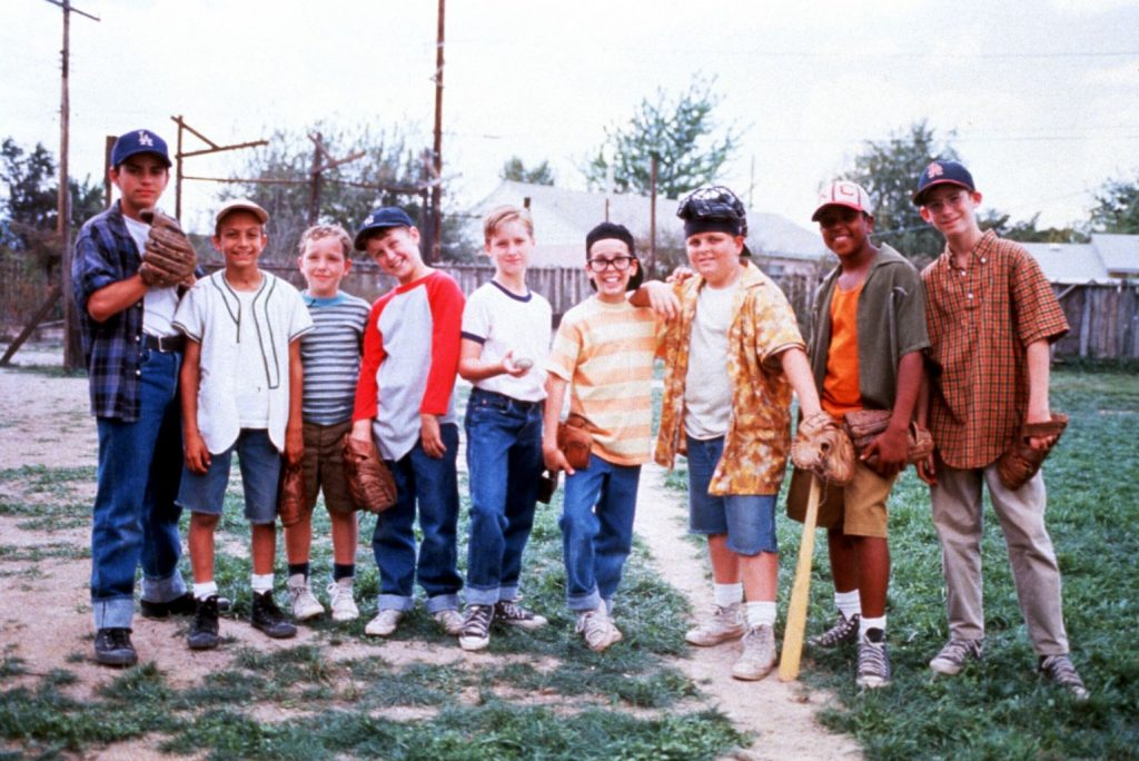 The Sandlot 1993 baseball movie cast