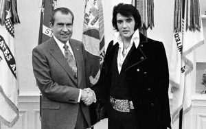 Elvis Presley President Richard Nixon meeting 1970