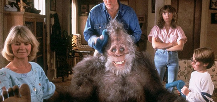 Harry and the Hendersons 1987 Bigfoot comedy