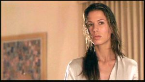Hollow Man 2000 Rhona Mitra attack scene