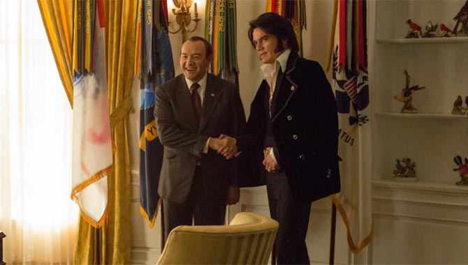 Kevin Spacey Michael Shannon Elvis & Nixon 2016 movie