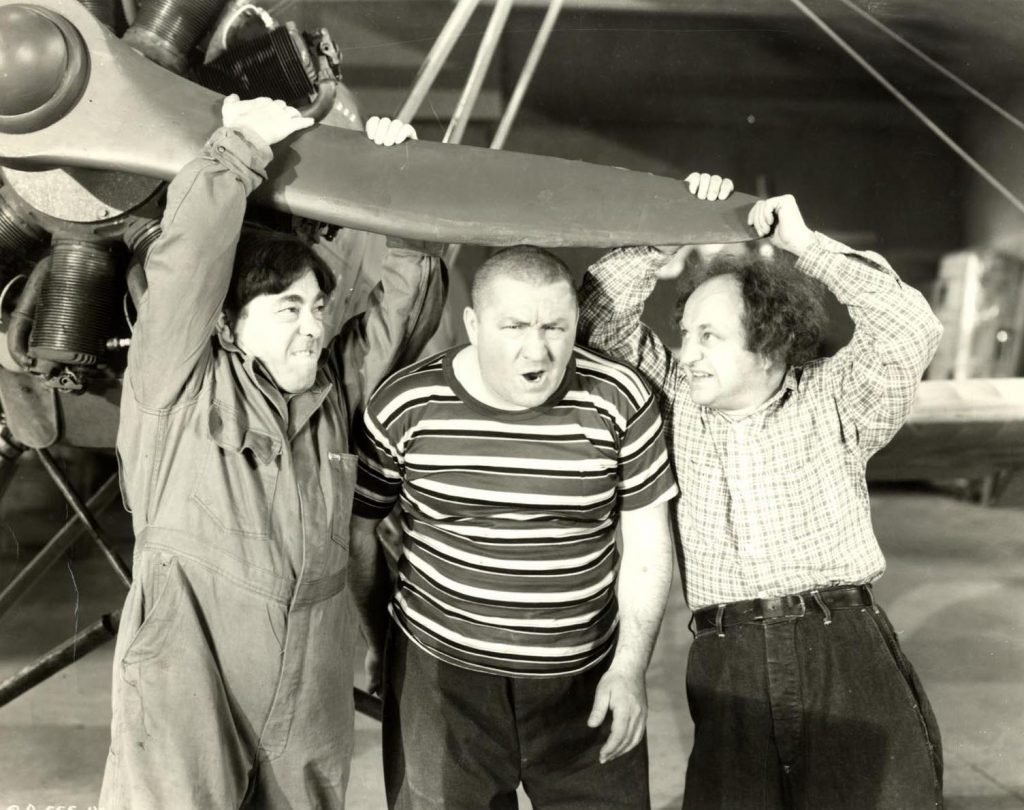The Three Stooges Moe Larry Curly Higher Than A Kite 1943