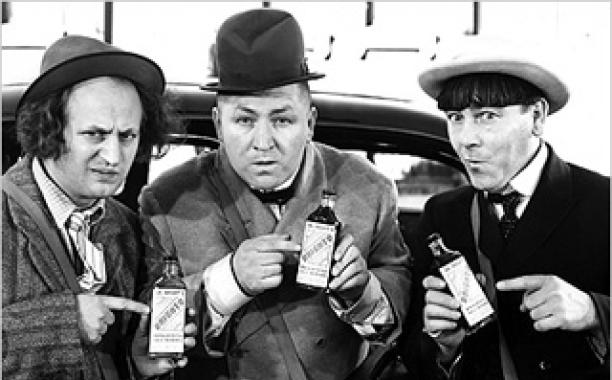 Three Stooges legacy Moe Larry Curly