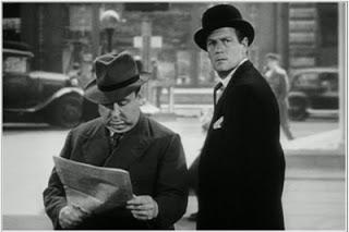 Alfred Hitchcock cameo Foreign Correspondent Joel McCrea 1940
