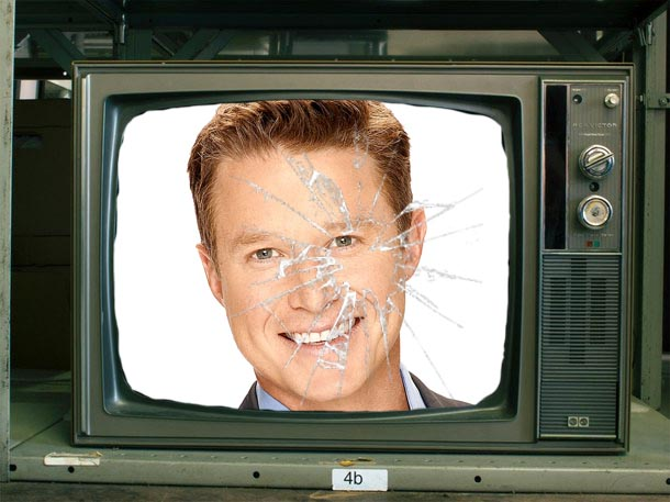 BIlly Bush annoying man on television scandal