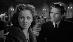 Dangerous Crossing 1953 Jeanne Crain Michael Rennie noir mystery