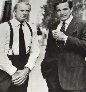 Murrow 1986 HBO TV Movie Daniel J Travanti Dabney Coleman