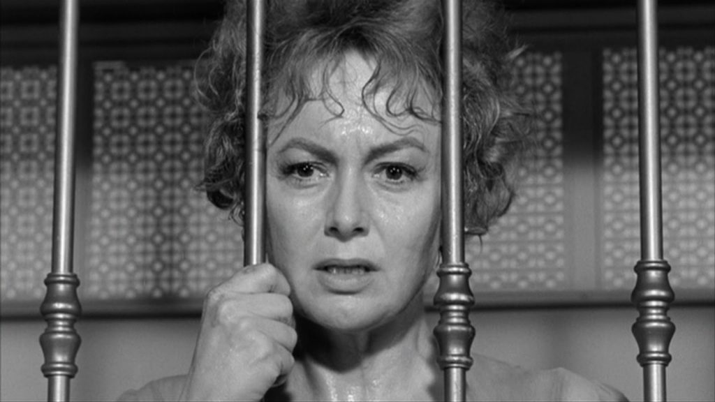 Olivia de Havilland Lady In A Cage 1964 horror thriller movie