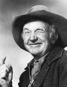 Walter Brennan western character actor