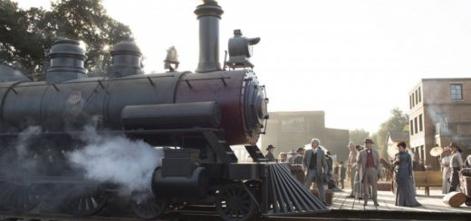 Westworld HBO TV show town train