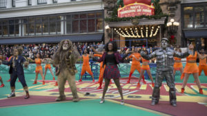 Macy's Day Parade dance number